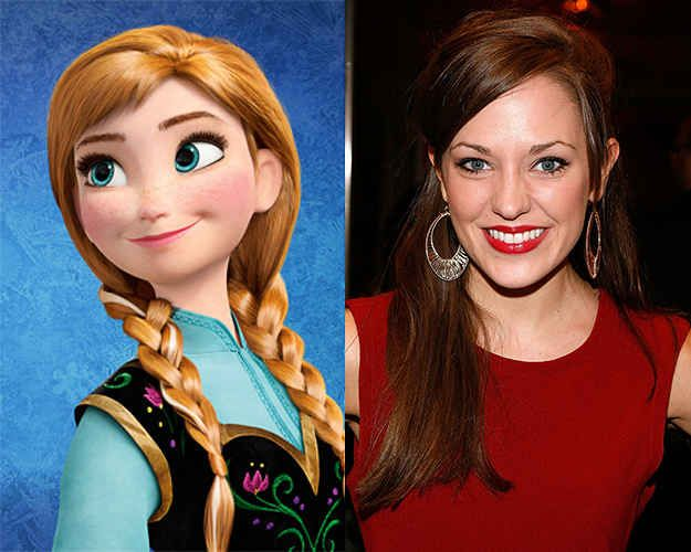 Disney's Frozen on Broadway possible people playing the roles. Please let Laura Osnes play Anna!! That would be AWESOME!!!