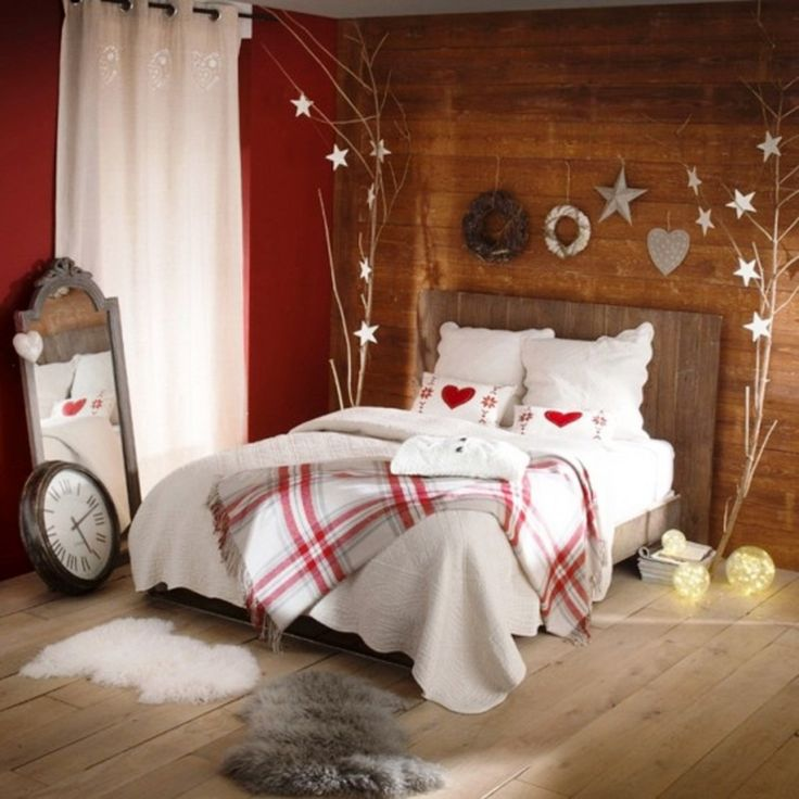 30 Christmas Bedroom Decorations Ideas. 25  best ideas about Christmas Bedroom Decorations on Pinterest