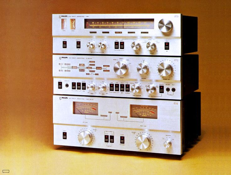 Late 70 S Vintage Philips Ah 578 Amp Ah572 Pre Amp And Ah