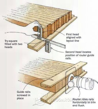 Building Workbench Top - Woodworking Tips and Techniques | WoodArchivist.com