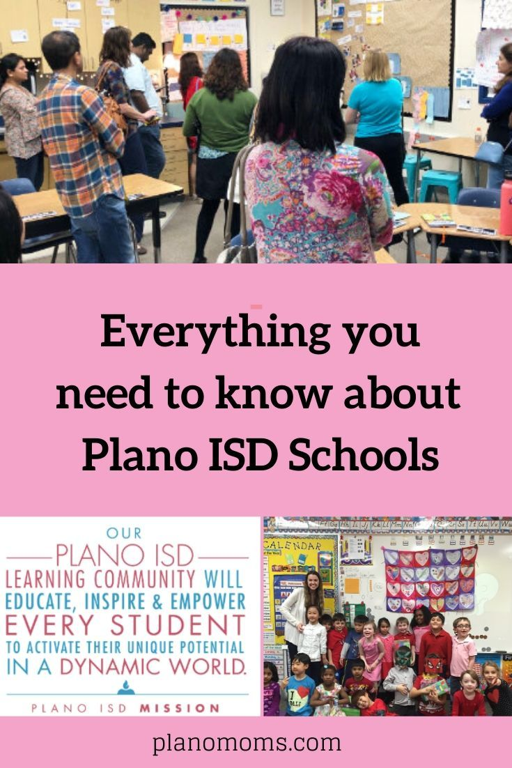 Everything You Need To Know About Schools In Plano Isd After