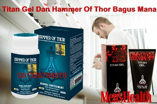 Titan Gel Dan Hammer Of Thor Bagus Mana