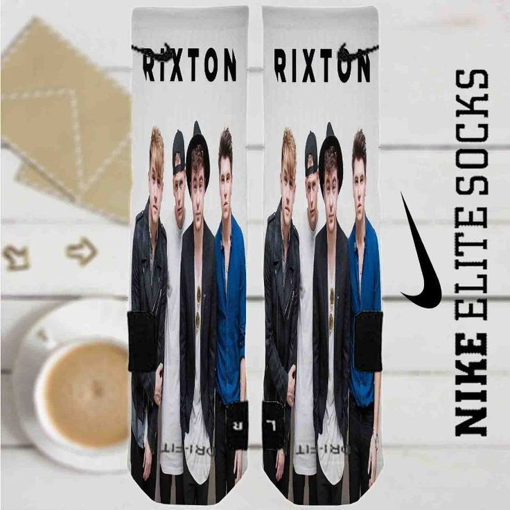 Rixton Band Custom Nike Elite Socks