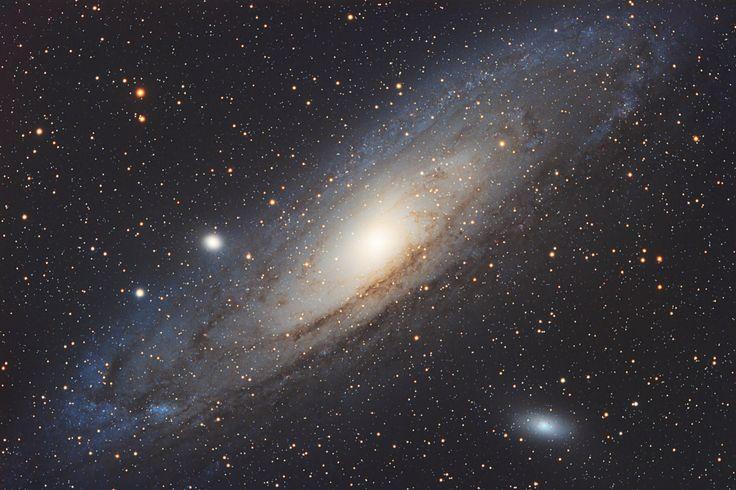 Скачать обои M 31, Галактика, NGC 224, Андромеды, раздел космос в разрешении 4206x2801