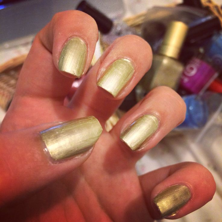 Gold foil effect by Barry m.