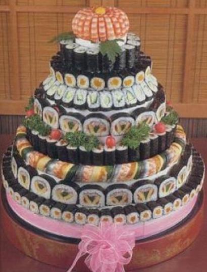 a sushi cake!!!