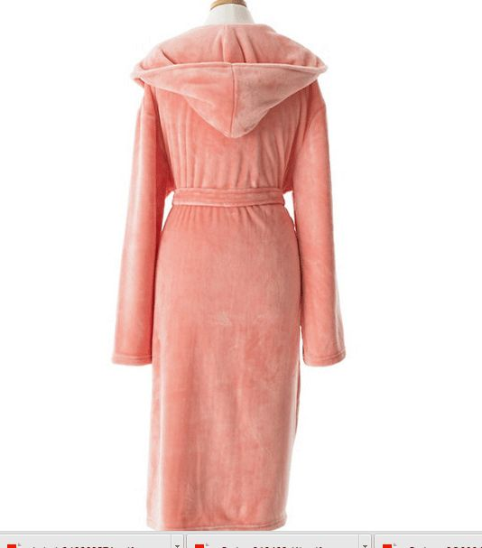 Pine Cone Hill Selke Fleece Coral Hooded Robe Ships Free #giftsshewilllove #giftsshewilllovebathandbody #giftsshewillloveuniquegifts #giftsshewilllovejewerlry #lavenderfields
