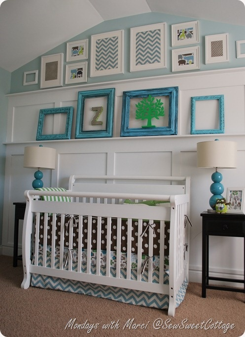 The sweetest boy nursery!!