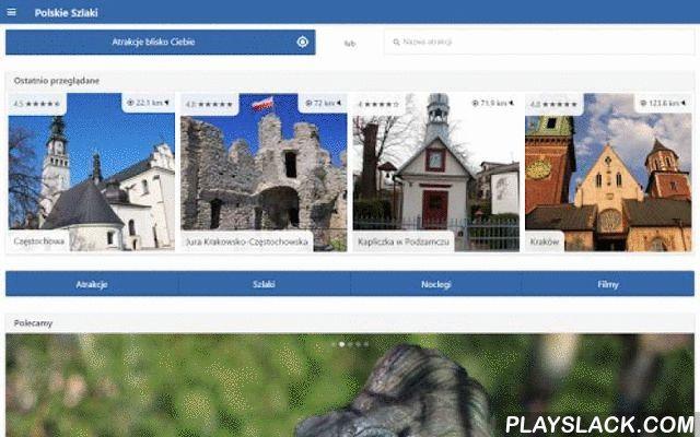 Polskie Szlaki  Android App - playslack.com , Z tą aplikacją każdy Twój wyjazd będzie udany. Ponad 5000 atrakcji ze zdjęciami i opisami.Podstawowe cechy aplikacji:- wyszukiwanie atrakcji w Twoim pobliżu,- pokazywanie odległości i kierunku od Ciebie,- możliwość oznaczania atrakcji jako odwiedzone lub do odwiedzenia,- ostatnio przeglądane atrakcje,- atrakcje w pobliżu innej atrakcji wraz z odległością i kierunkiem,- lista atrakcji na mapie,- filtrowanie wyników,- szlaki turystyczne,- baza…