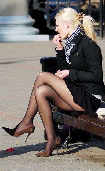 Pantyhose in russia