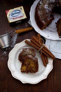 Κέικ με γέμιση κανέλας και καστανής ζάχαρης & tips για καλύτερα κέικ - Myblissfood.grMyblissfood.gr