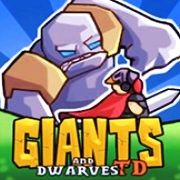 Giants and Dwarves TD - The kingdom is under the attack of huge devastating giants and relentless waves of enemies. Build multistoried towers to defend against the attack and take advantage of the environment by dropping boulders on the enemies or burning the hay on their path. Command your champion and cast powerful spells to destroy the invaders and lead your people to victory.
