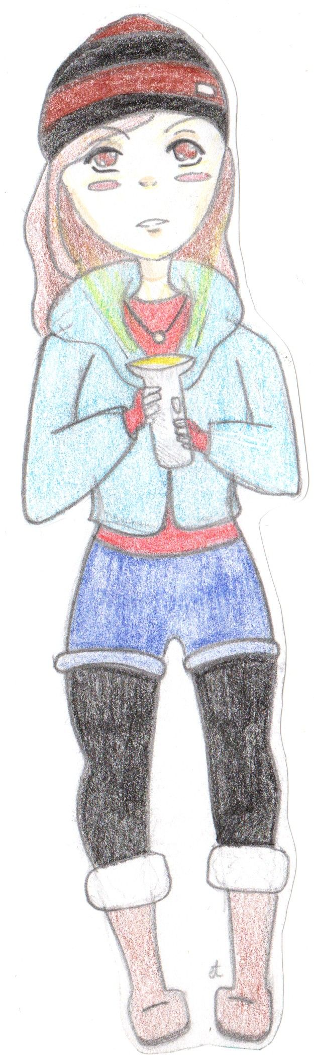 Ashley from Until Dawn~ this is my own drawing ^3^