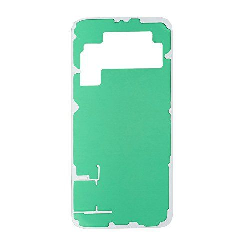 Genko Original Back Battery Cover Adhesive Tape Sticker For Samsung Galaxy s6 G920 (ALL CARRIERS)  https://topcellulardeals.com/product/genko-original-back-battery-cover-adhesive-tape-sticker-for-samsung-galaxy-s6-g920-all-carriers/  1.Original battery back cover adhesive for Galaxy S6 New In Stock 2.It is Double Sided and One-off Adhesive. 3.When assembling the phone, the back cover can't be reinstalled tightly because the sticker is disposable. Under such condition, a