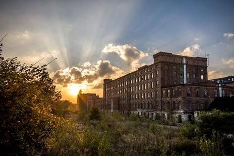 Scheibler factory, Ksiezy Mlyn, Lodz, Poland  fot. Filip Duda