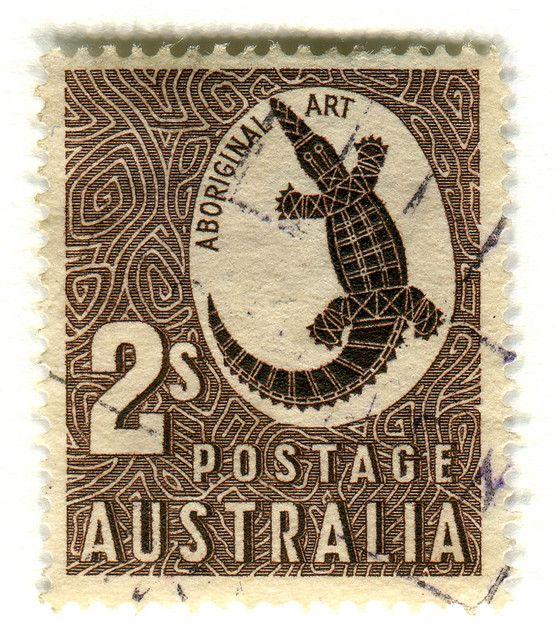 Australian stamp.