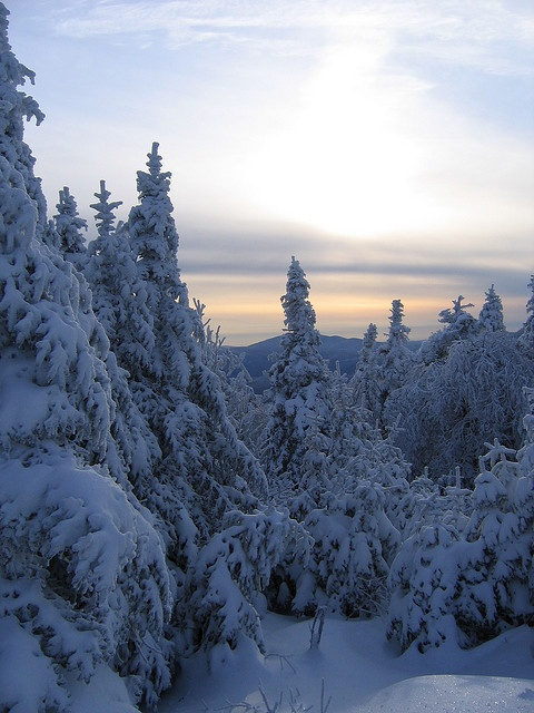 Winter by kevinjh87, via Flickr;  Jay Peak, Vermont