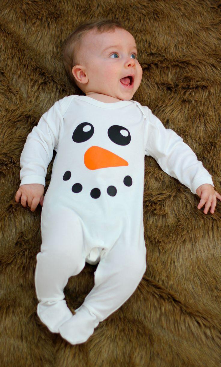 BABY-MOOS-Christmas-Baby-Sleepsuit-Snowman