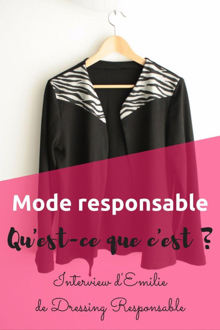 Mode responsable, qu'est-ce que c'est? Retour sur sa définition avec une…