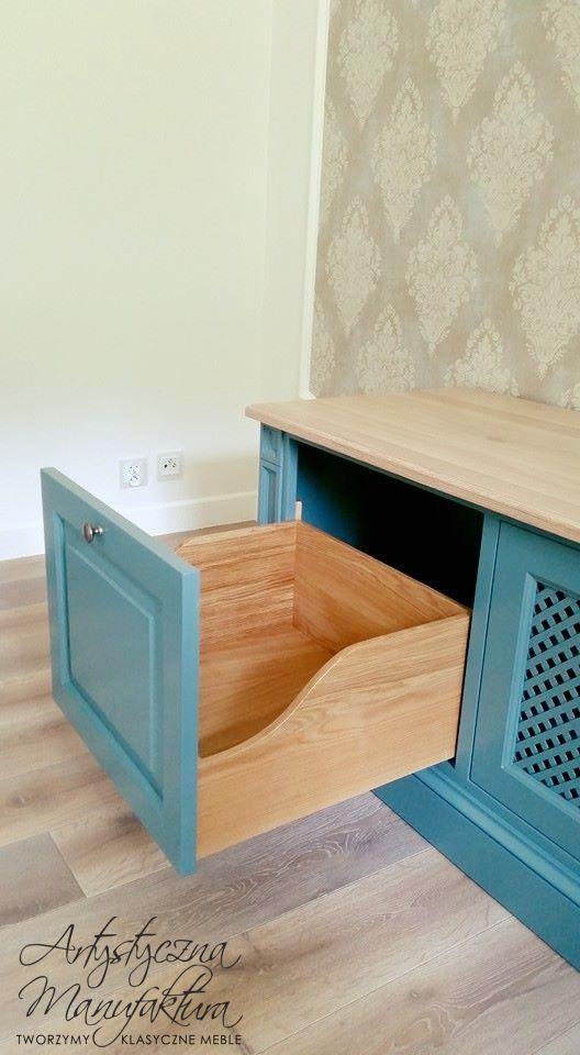 wood drawer, custom RTV cabinet