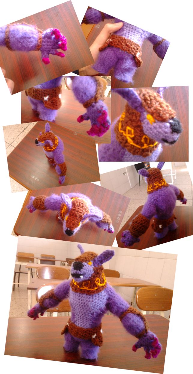 Dota Plush: Purple URSA [Amigurumi] by Kaira-Raiton-Kurama.deviantart.com on @DeviantArt