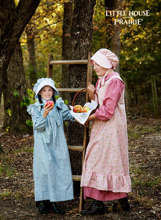 Prairie Dresses And Bonnets For Girls And Adults Pioneer
