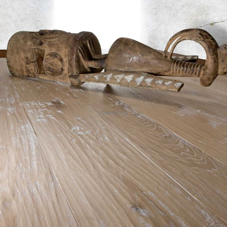 Distressed Oak Rope Lacquered Flooring