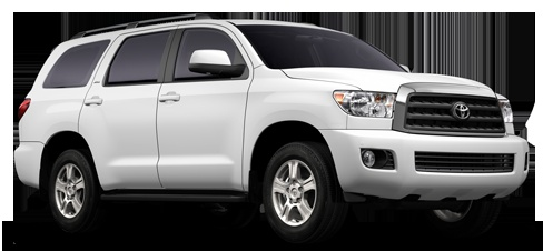 Toyota Sequioa in Silver Please!!