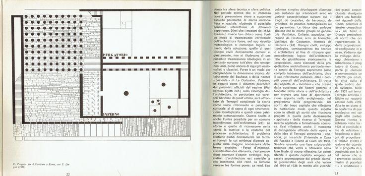 Giuseppe Terragni, Project for the Danteum, 1934 (Enrico Mantero, Giuseppe Terragni e la città del razionalismo italiano, Bari, Dedalo libri, 1969, p. 22)