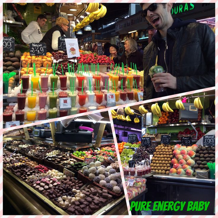 Forget Seychelles! This is Paradise ! Barcelona Market