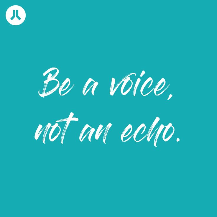 Be a voice not an echo || Pray For Yoga