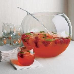 Simple Holiday Party Punch Recipe 2 quarts sherbet 2 liter ginger ale 1 46 oz can pineapple juice