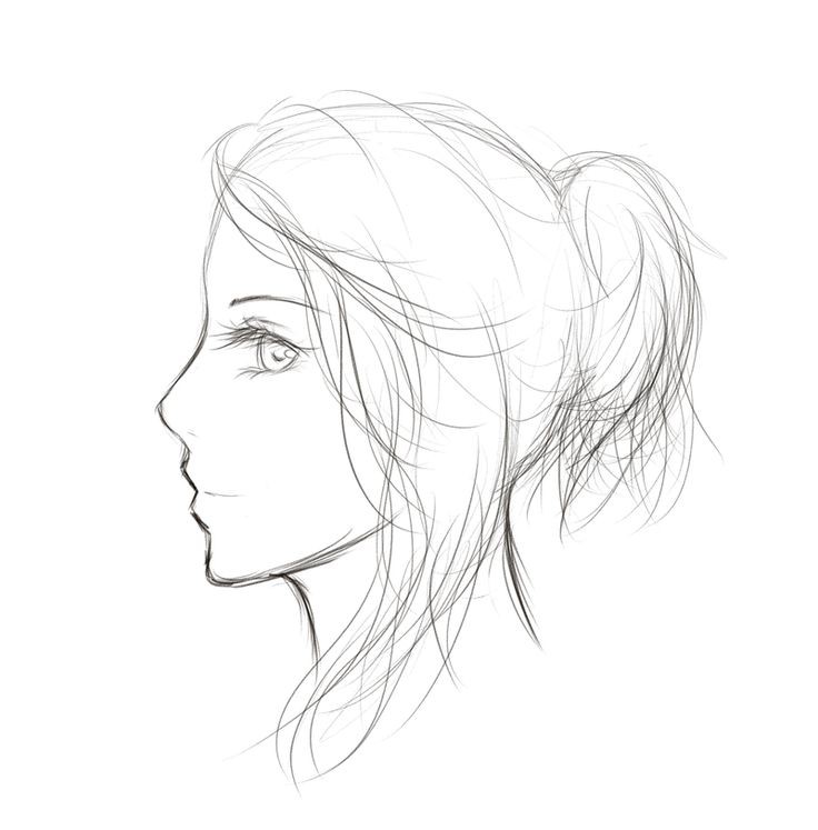 Best 25 side face drawing ideas on pinterest python nose anime kptallat a kvetkezre drawing face female side ccuart Image collections