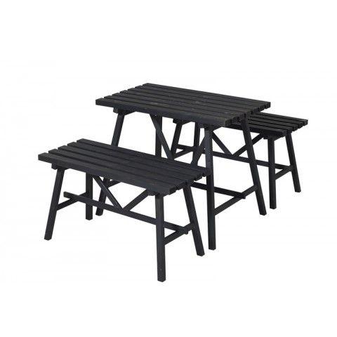VASKEBORD/BÆNKESÆT KOMPLET - PLUS - Bord-bænkesæt - Møbler - Havemøbler - Køb det online hos BAUHAUS her
