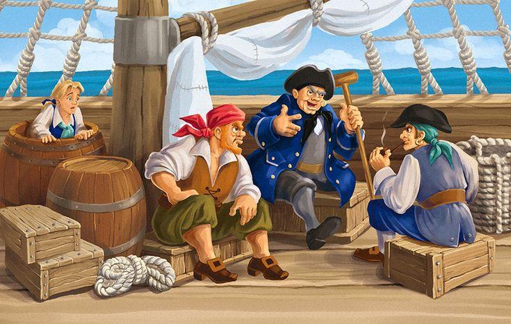 praatplaat piraten voor kleuters
