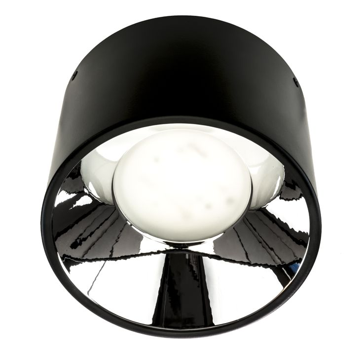 Low - cost surface mounted LED downlight. Body is made of steeland aluminium. Body can be painted in any RAL colour. Silver glossy reflector in standard, white painted on request. See it on: http://imperial.pl/en/produkty,403/dln-185-eco-led