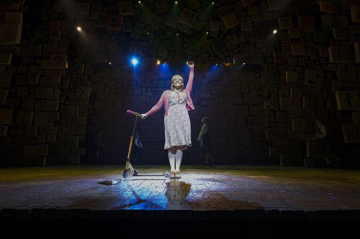 Miss Honey - Matilda the Musical.