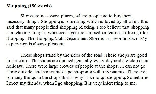 تعبير عن التسوق بالانجليزي Words Sayings Stress