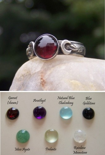 Triple Moon Ring