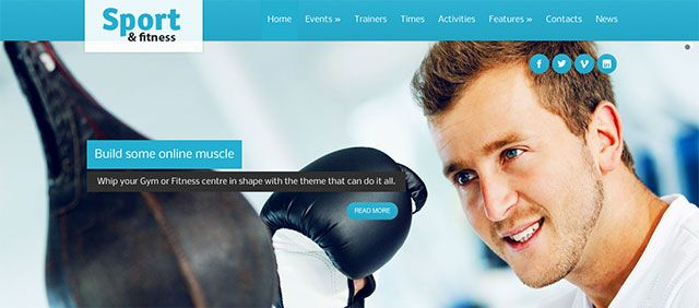 25+ Best WordPress Fitness Themes 2016 - Useful Blogging