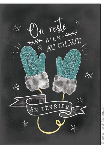 Trouvez de très belles cartes à envoyer en Février ! http://www.merci-facteur.com/carte-fevrier.html #Carte #Février #montagne #lac #ski #neige #vacances #froid #saison #Hiver Carte On reste bien au chaud pour envoyer par La Poste, sur Merci-Facteur !