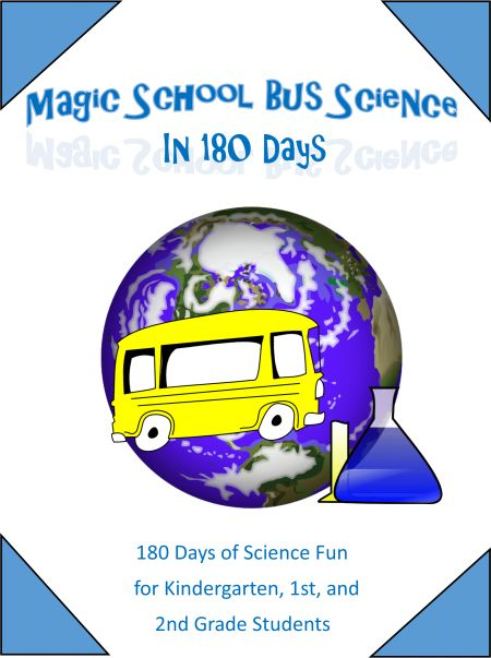 The Magic School Bus in 180 Days Free Lesson Plans!  Download Your Printable Copy Now! What a fun science curriculum for lower elementary! @CornerstoneConfessions.Com