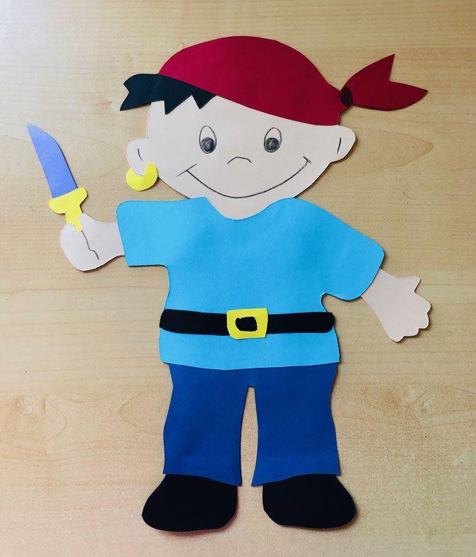 Bartige Piraten Basteln Kindergeburtstag Planen De 10