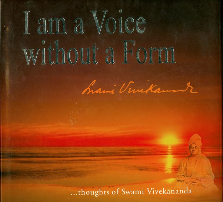 I am a Voice without a Form - Thoughts of Swami Vivekananda (Hard Bound)