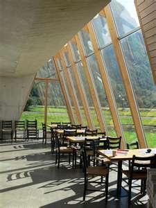 glacier museum interior - Sverre Fehn