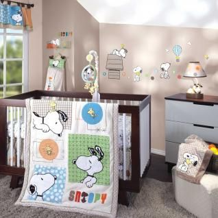 BFF Snoopy Bedding by Lambs & Ivy - Snoopy Baby Crib Bedding - 549005v