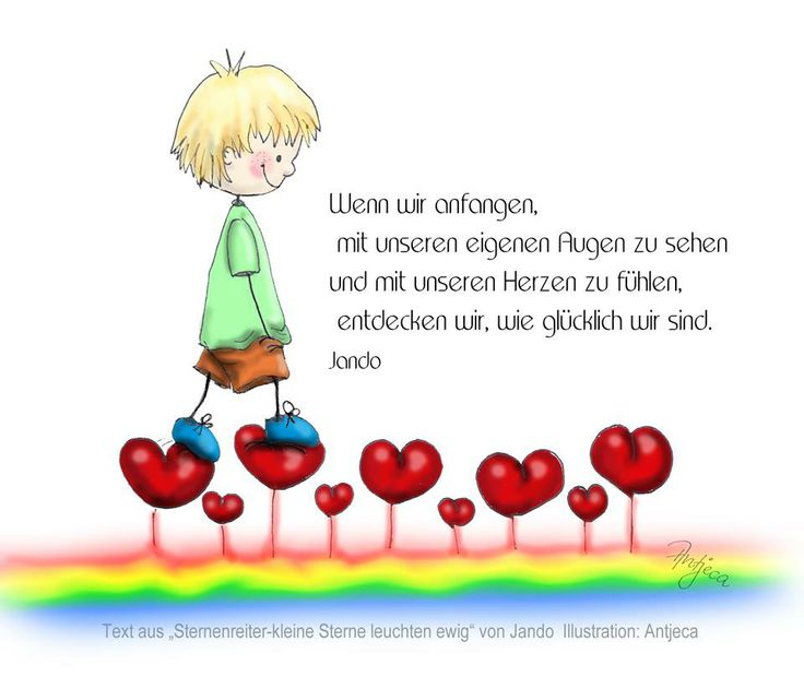 ...auf Herzen gehen...