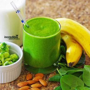 Here's a delicious green smoothie that blends the sweet flavors of pineapple, banana and almonds while hiding the taste of mineral-rich broccoli and spinach. Pineapples also contain nutrients that may have anti-inflammatory properties. Bromelain, an enzyme found in pineapple, may also support digestion. Broccoli is a great source of calcium and antioxidants. The pineapple and …