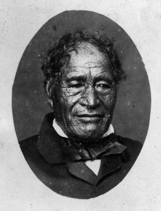 Tamati Waka Nene - Lindauer Online - this is my ancestor on my dad's lineage - the Cook family in Russell (whalers) my grandmother being a Cook her ancestor a niece (Tiraha) of Tamati Waka Nene married William Cook one of the Cook brothers.My grandfather was a Reti (whanau) originally from Tauranga