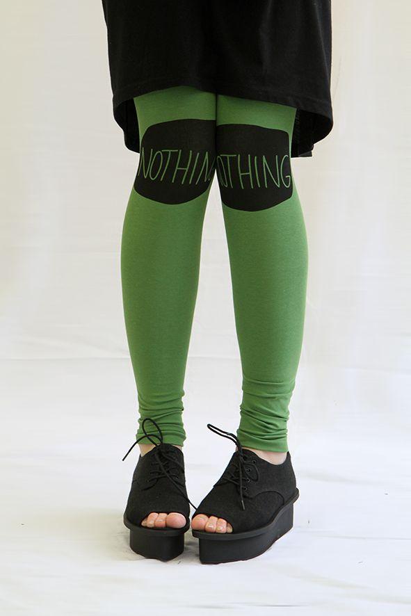 Nothing leggings by KIKERIGU. www.kikerigu.fi